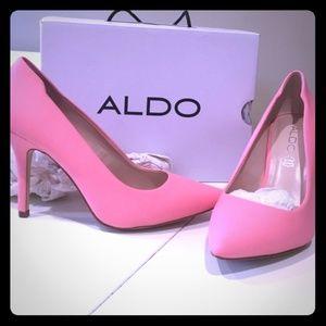Aldo Pink Matte Ubuvia Heels